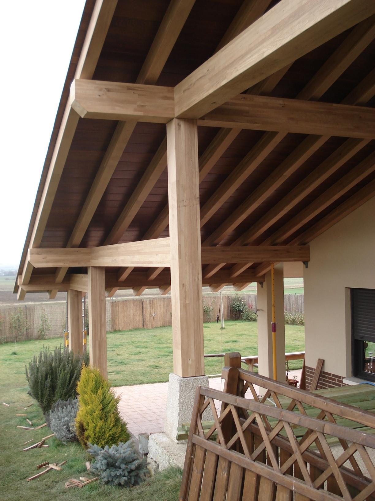 Tejados de madera cubiertas estructuras - Estructuras de madera para tejados ...