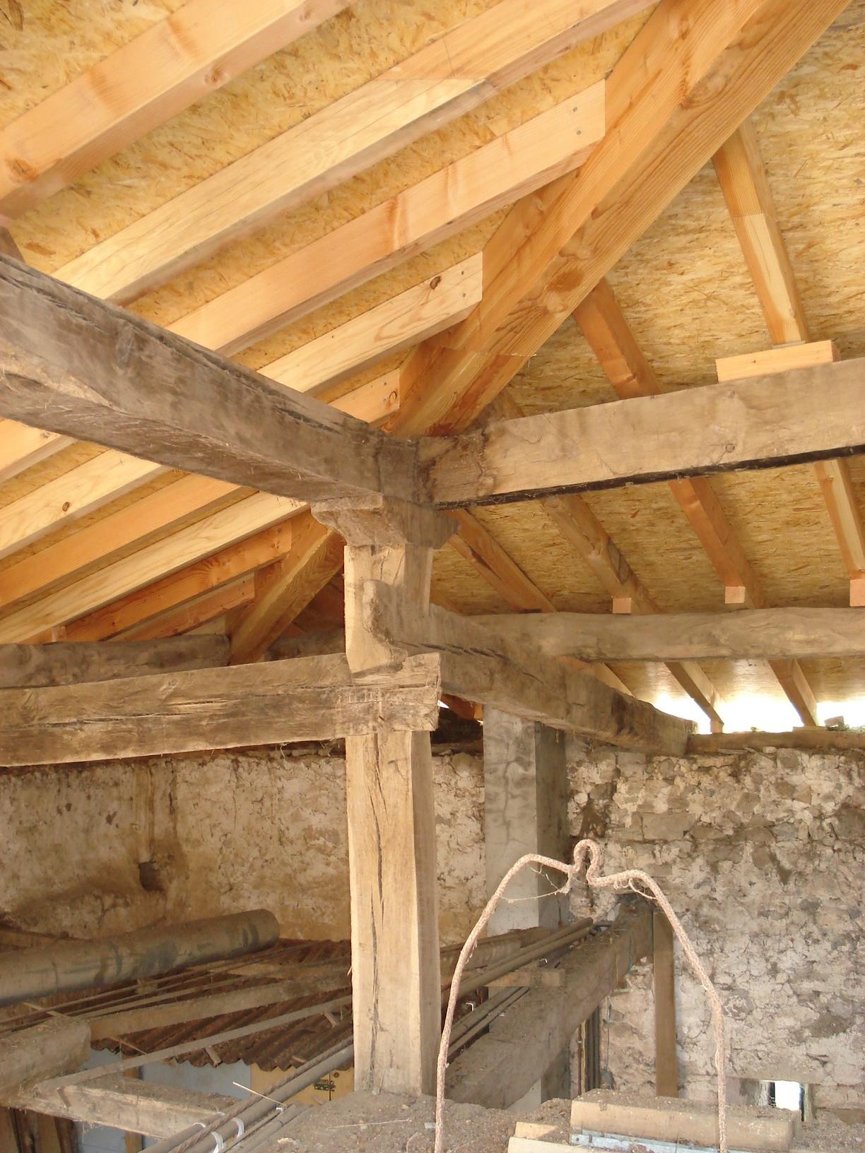 Tejados y estructuras en madera contacto - Estructuras de madera para tejados ...